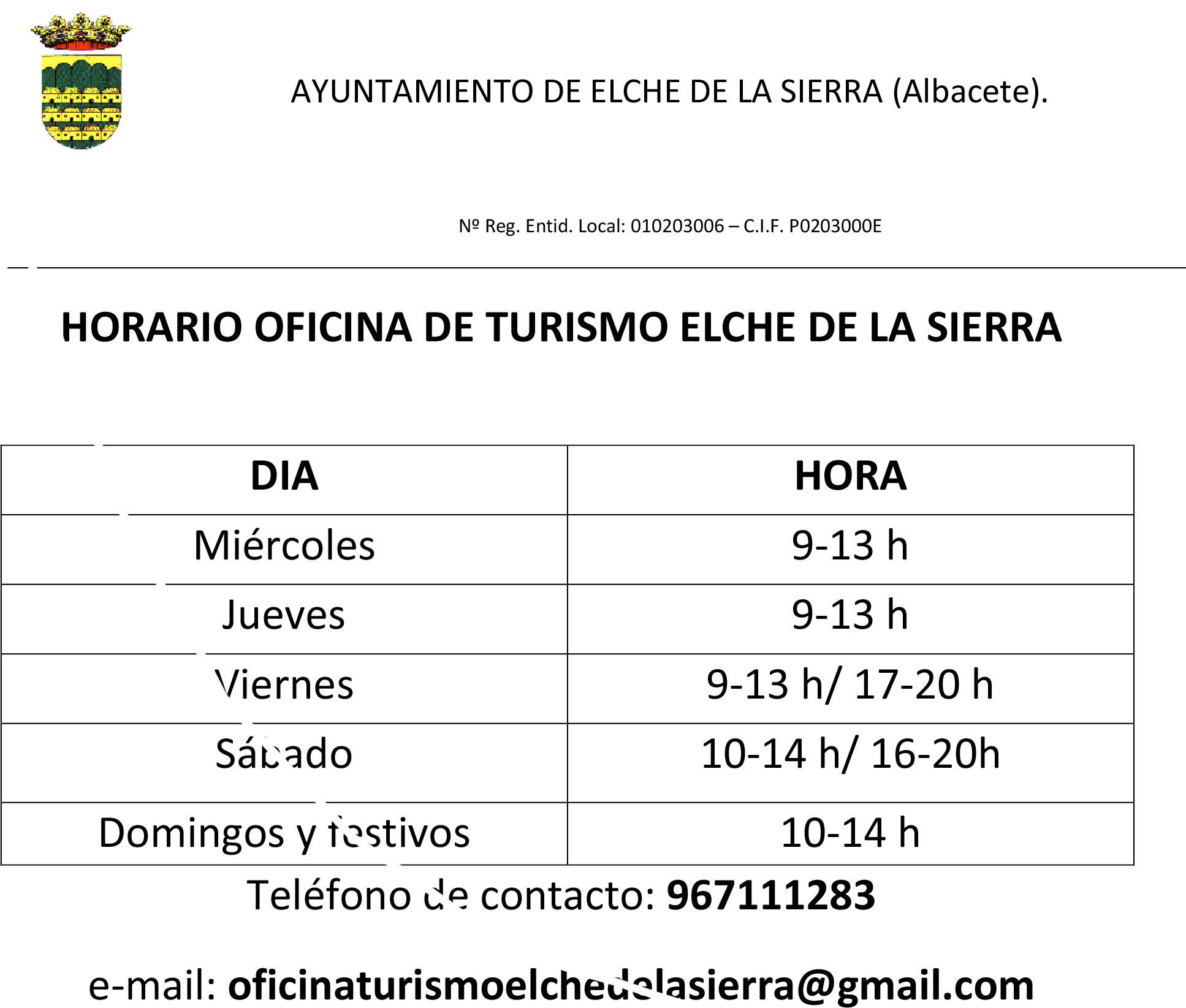 Actualidad for Horario de oficina naviera armas