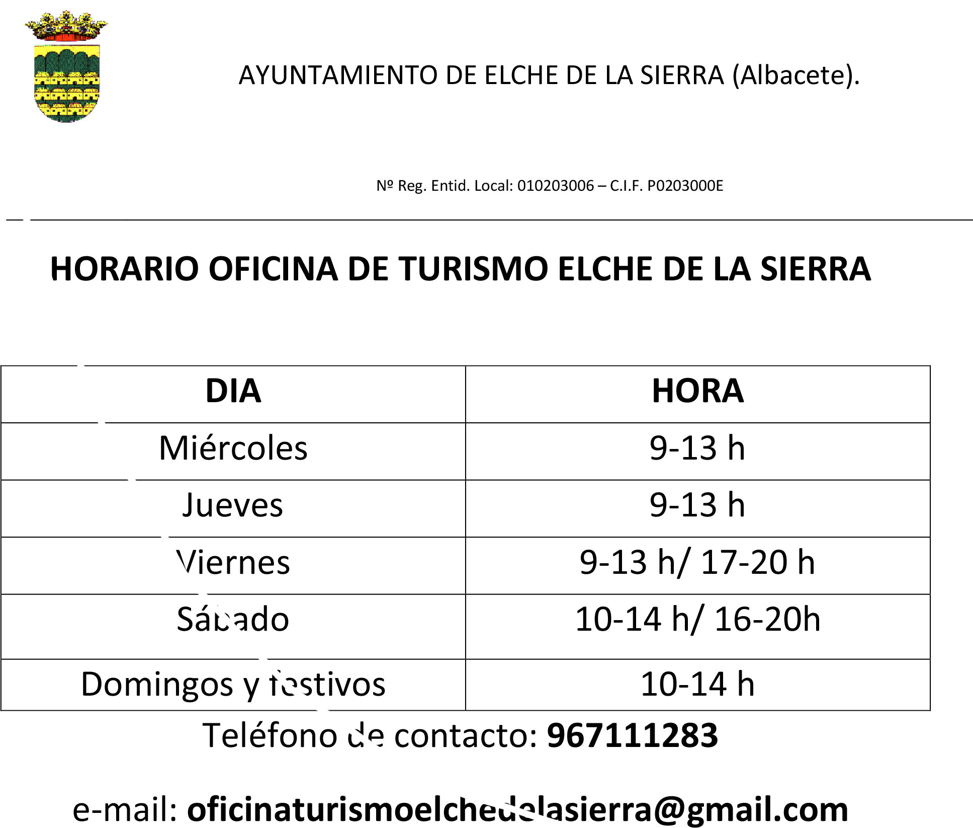 Actualidad for Oficina de turismo albacete